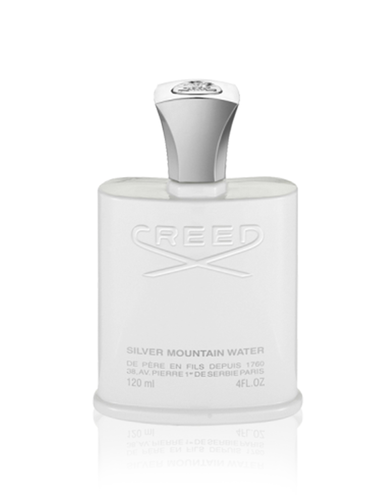 Creed Silver Mountain Water Eau De Parfum 4 FL OZ 2 - ادو پرفيوم مردانه کريد مدل Silver Mountain Water حجم 120 ميلي ليتر
