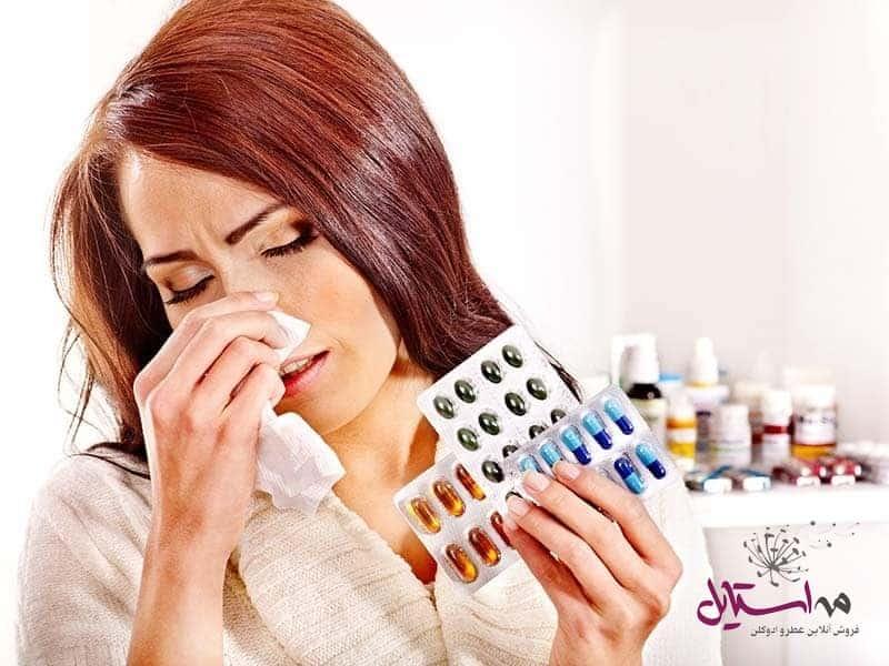 تصویر ۲ - انواع حساسیت به عطر و ادکلن