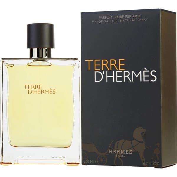 ادو تويلت مردانه هرمس مدل Terre De Hermes حجم 200 ميلي ليتر
