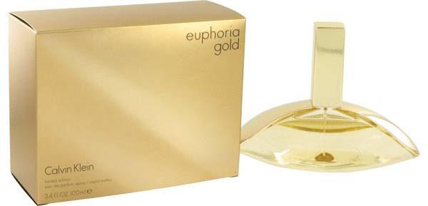 ادو پرفيوم زنانه کلوين کلاين مدل Euphoria Gold حجم 100 ميلي ليتر