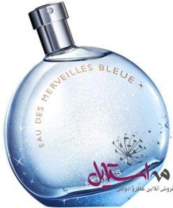 ادو تويلت زنانه هرمس مدل Eau des Merveilles Bleue حجم 100 ميلي ليتر