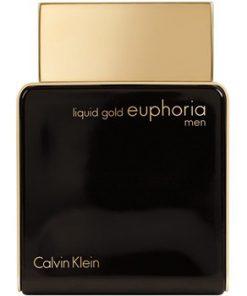 ادو پرفيوم مردانه کلوين کلاين مدل Liquid Gold Euphoria Men حجم 100 ميلي ليتر