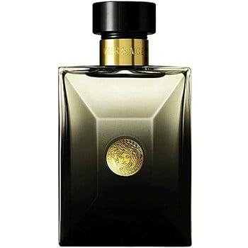 Perfume Versace Oud Noir Eau De Parfum For Men 100ml95244a - ادو پرفيوم مردانه ورساچه مدل Pour Homme Oud Noir حجم 100 ميلي ليتر