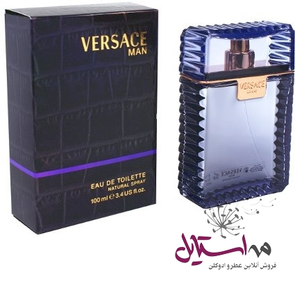 versace man woda toaletowa dla mezczyzn   19 - ادو تويلت مردانه ورساچه مدل Man حجم 100 ميلي ليتر