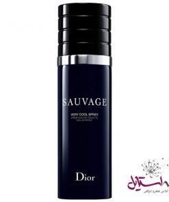 ادو تویلت مردانه دیور مدل Sauvage Very Cool Spray حجم 100 میلی لیتر