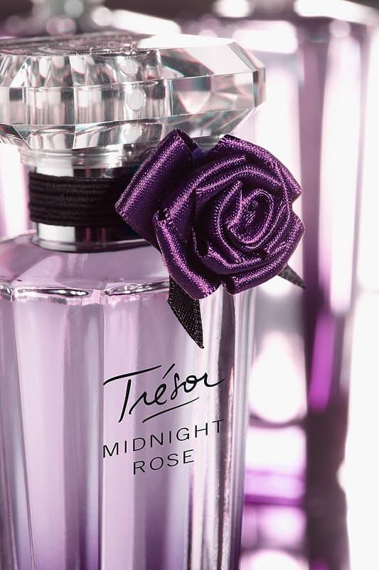 tresor midnight rose flacon lancome - ادو پرفیوم زنانه لانکوم مدل Tresor Midnight Rose حجم 75 میلی لیتر