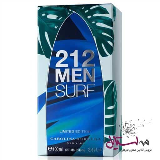 21477 StockZoom ed1eeb18 e68d 4c5f - ادو تویلت مردانه کارولینا هررا مدل 212 Surf for Him حجم 100 میلی لیتر
