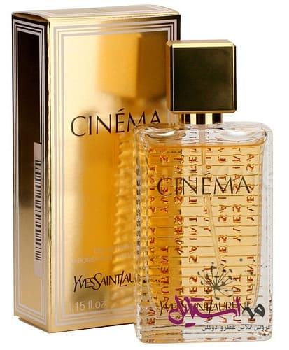 yslcinema - ادو پرفیوم زنانه ایو سن لوران مدل Cinema حجم 90 میلی لیتر