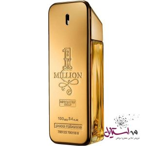 تستر ادو پرفیوم مردانه پاکو رابان مدل 1Million Absolutely Gold حجم 100 میلی لیتر
