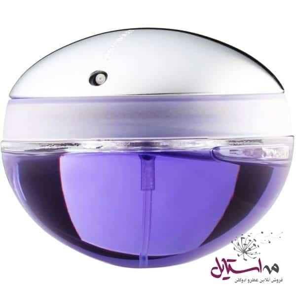 74921 - ادو پرفیوم زنانه پاکو رابان مدل Ultraviolet حجم 80 میلی لیتر