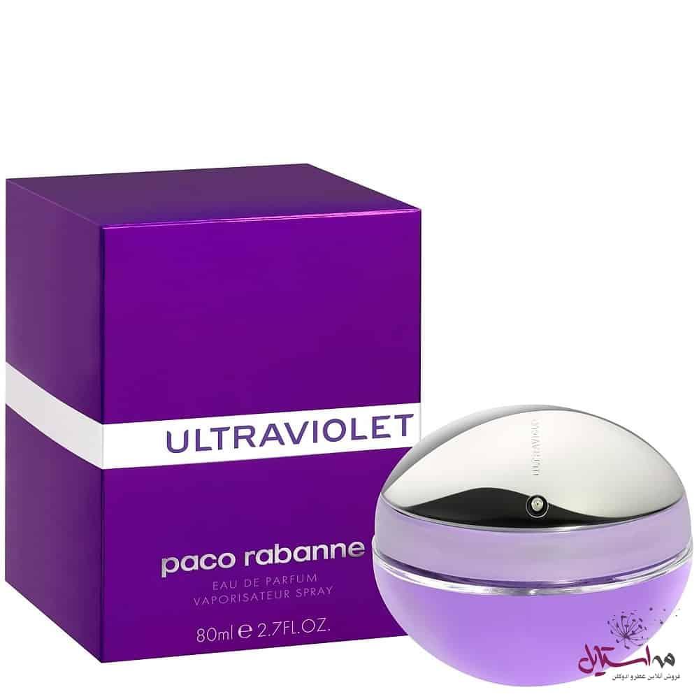 Paco Rabanne Ultraviolet Feminino Eau de Parfum 80ml - ادو پرفیوم زنانه پاکو رابان مدل Ultraviolet حجم 80 میلی لیتر