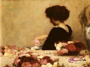 این اثر هربرت جیمز دراپر، منبع الهام خود را در دنیای زیبای بوی گل رز یافته است.