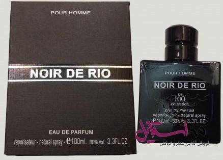 rio collection noir de rio مردانه 2 - ادو پرفیوم مردانه ریو کالکشن مدل Rio Noir De Rio حجم 100ml