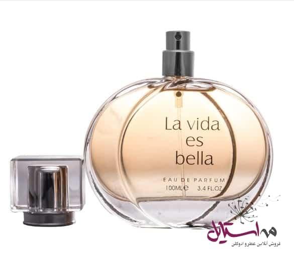1000215 4 - ادو پرفیوم زنانه فراگرنس ورد مدل La Vida Es Bella حجم 100 میلی لیتر