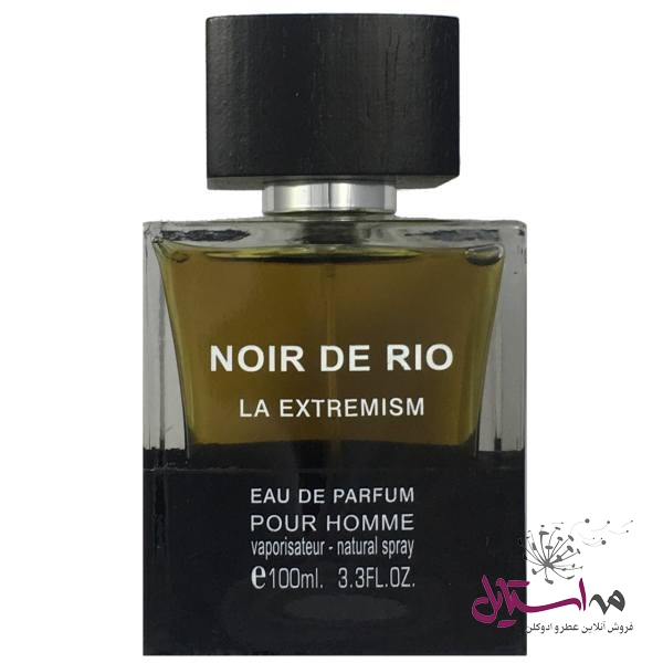 1376081 - ادو پرفیوم مردانه ریو کالکشن مدل Rio Noir De Rio La Extremism حجم 100ml