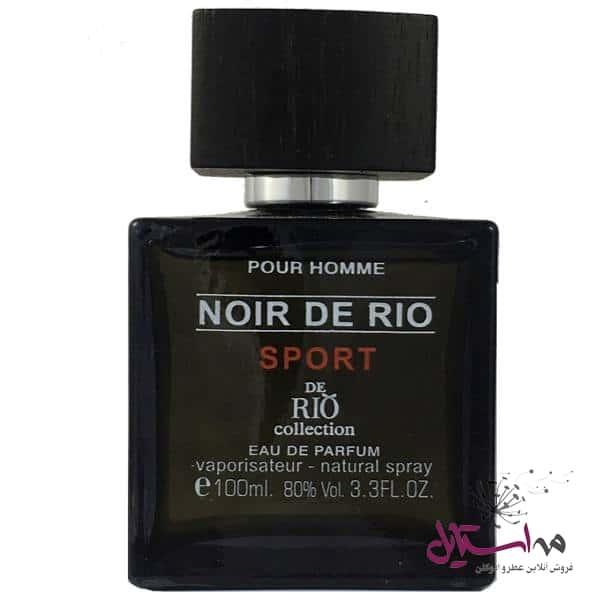 2022283 - ادو پرفیوم مردانه ریو کالکشن مدل Rio Noir De Rio Sport حجم 100ml