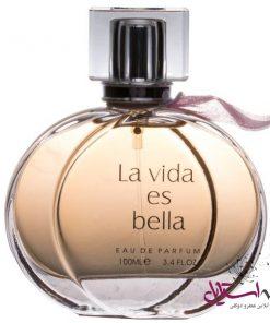 ادو پرفیوم زنانه فراگرنس ورد مدل La Vida Es Bella حجم 100 میلی لیتر