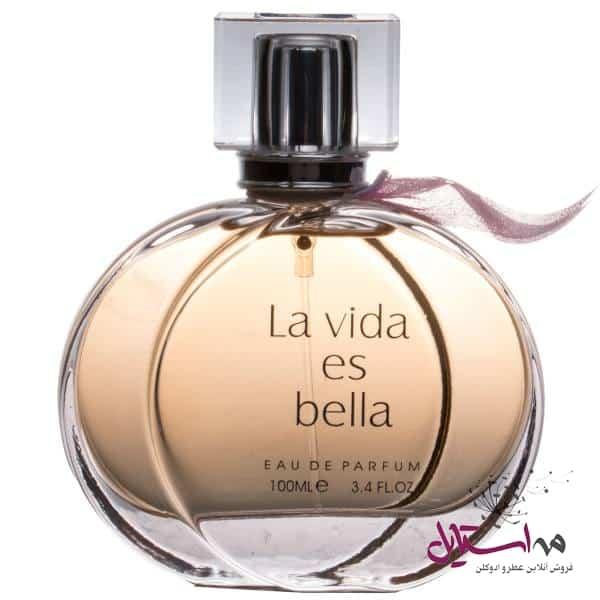 2183750 - ادو پرفیوم زنانه فراگرنس ورد مدل La Vida Es Bella حجم 100 میلی لیتر