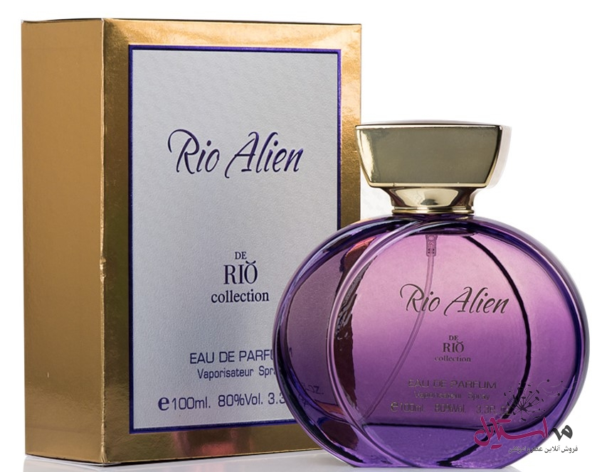 DE RIO Collection Rio Alien EAU DE PARFUM For Women. ادو پرفیوم دریو کالکشن مدل ریو آلین مناسب برای خانم ها 2 - ادو پرفیوم زنانه ریو کالکشن مدل Rio Alien حجم 100 میلی لیتر