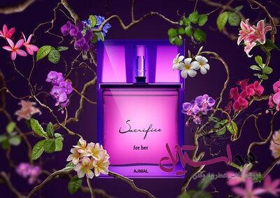 Sacrifice For Her by Ajmal Perfumes 50ml Eua - ادو پرفیوم زنانه اجمل مدل Sacrifice for Her حجم 50 میلی لیتر