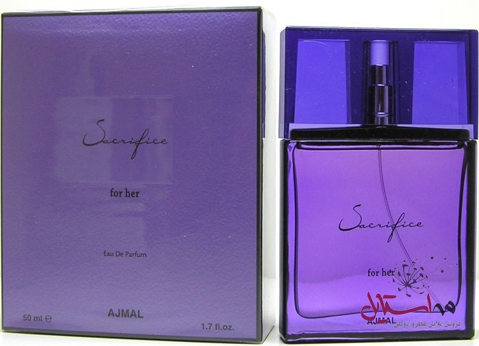 ajmal sacrifice for her edp 50 ml eau de parfum 1 - ادو پرفیوم زنانه اجمل مدل Sacrifice for Her حجم 50 میلی لیتر