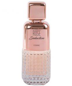 ادو پرفیوم زنانه فراگرنس ورد مدل Rose Seduction حجم 100 میلی لیتر