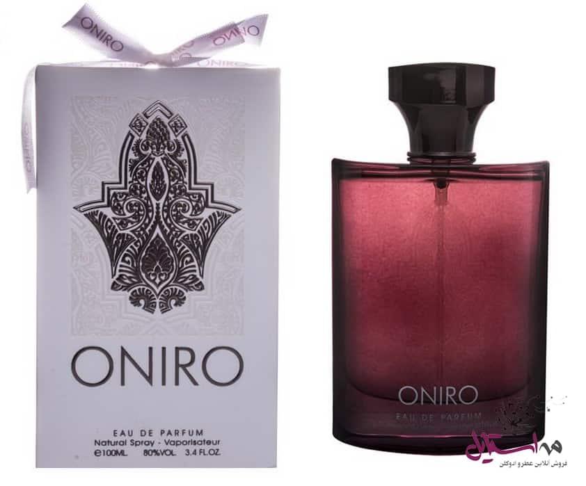 Fragrance World Oniro Eau De Parfum1 - ادو پرفیوم مردانه فراگرنس ورد مدل Oniro حجم 100 میلی لیتر