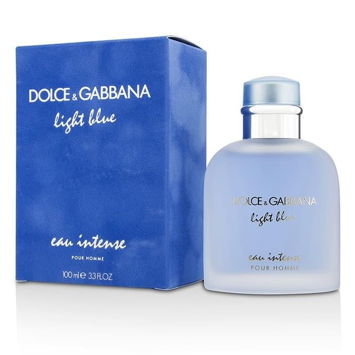 21258639505 700 - ادو پرفیوم مردانه دولچه گابانا مدل Light Blue Eau Intense Pour Homme حجم 100 میلی لیتر