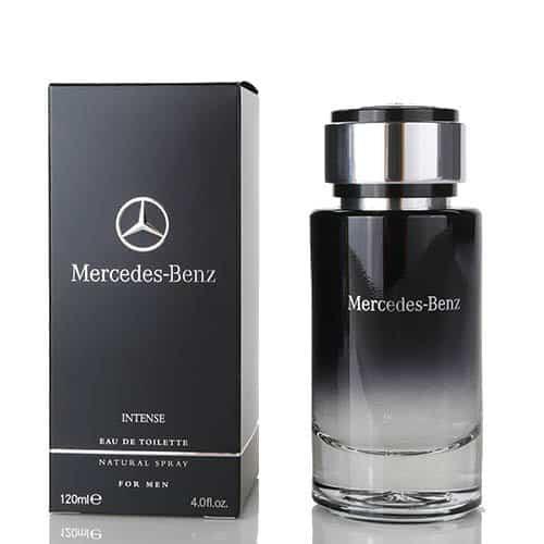 Mercedes Benz Intense 120ml - ادو تویلت مردانه Mercedes Benz Intense حجم 120ml