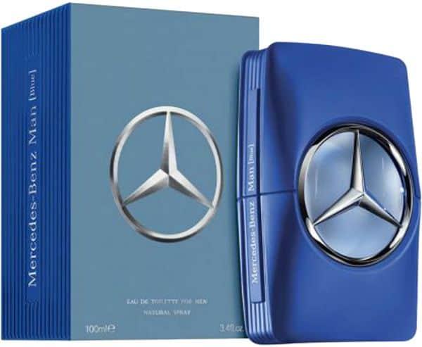 item XL 30911566 111337296 - ادوتویلت مردانه مرسدس بنز مدل Man Blue حجم 100 میلی لیتر