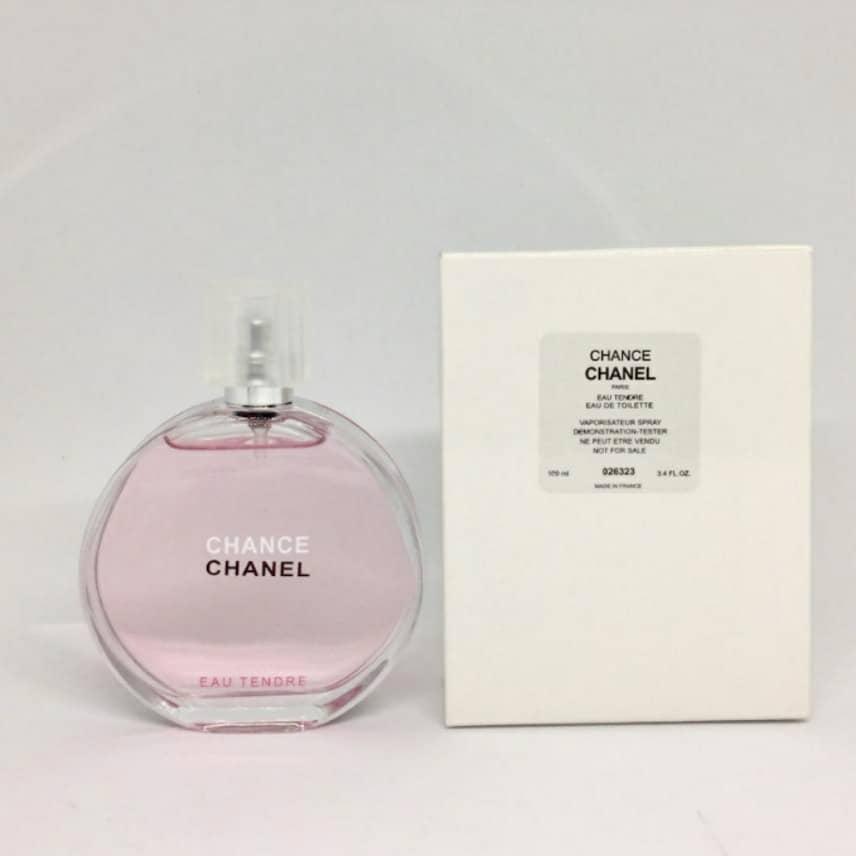 chanel chance tester set 100ml 1547942104 9195c978 - تستر اماراتی ادو تویلت زنانه شانل مدل Tendre حجم 100 میلی لیتر