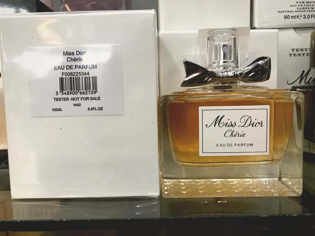 miss dior cherie original tester 100ml 1540056076 34190bab - تستر اماراتی ادو پرفیوم زنانه دیور مدل Miss Dior Cherie حجم 100 میلی لیتر