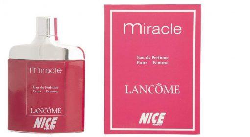 ادو پرفیوم زنانه نایس مدل Lancome Miracle حجم 85 میلی لیتر