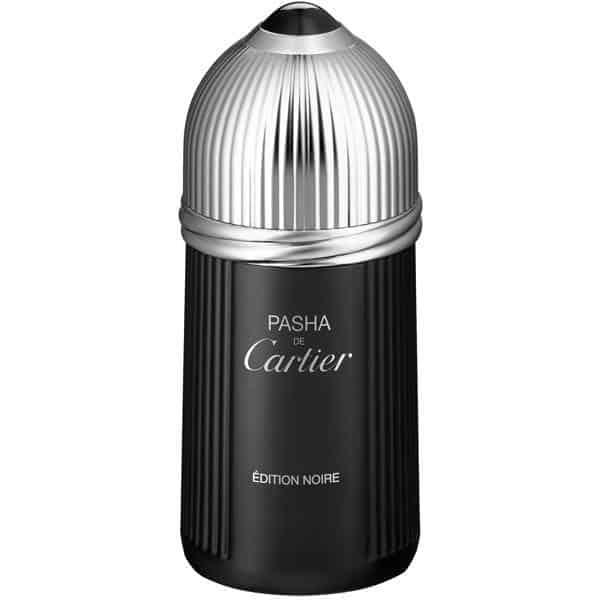 27105 - ادو تویلت مردانه کارتیه مدل Pasha de Cartier Edition Noire حجم 100 میلی لیتر