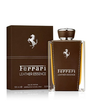 leather essence 000000000003593849 - ادو پرفیوم مردانه فراری مدل Leather Essence حجم 100 میلی لیتر