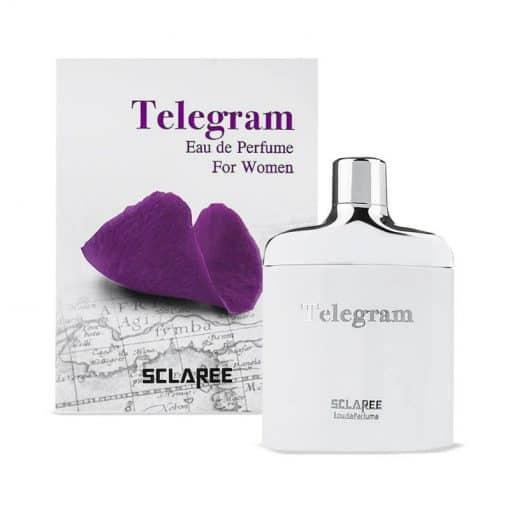 ادوپرفیوم زنانه اسکلاره مدل Telegram حجم 100 میلی لیتر