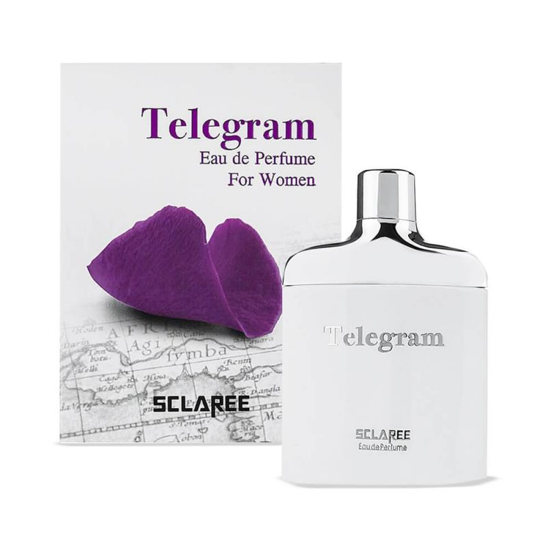 sclaree telegram gol banafsh 100 ml woman 304111281334 - ادوپرفیوم زنانه اسکلاره مدل Telegram حجم 100 میلی لیتر