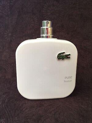 Lacoste Eau de Lacoste L1212 Blanc 33 - تستر اماراتی ادو تویلت مردانه لاگوست مدل Pure Blanc حجم 100 میلی لیتر