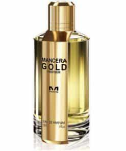 ادو پرفیوم مانسرا مدل Gold Prestigium حجم 120 میلی لیتر