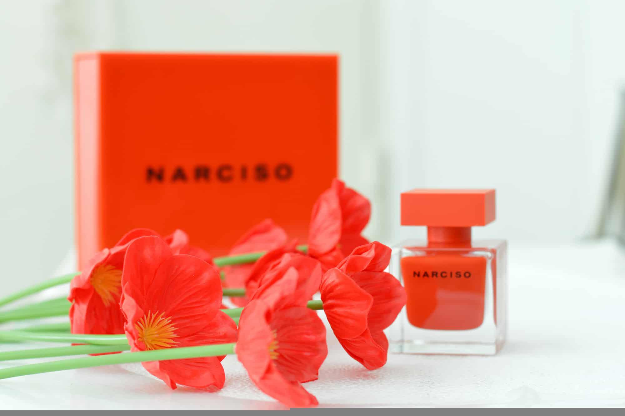 narciso rodriguez rouge 2 - ادو پرفیوم زنانه نارسیسو رودریگز مدل Narciso Rouge حجم 90 میلی لیتر