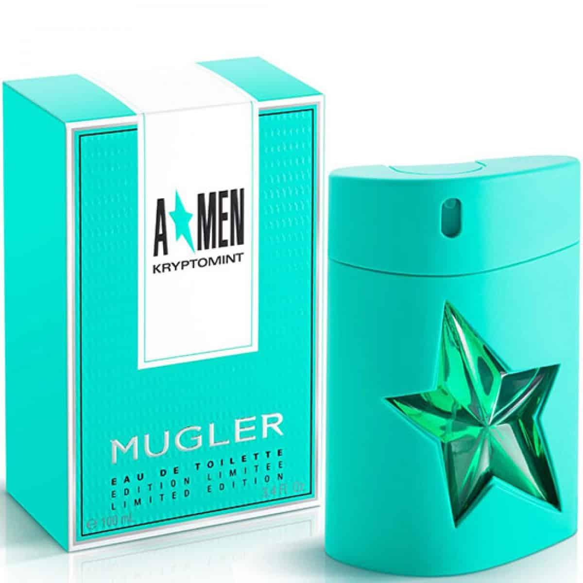 thierry mugler kryptomint edt 100ml perfume for men - ادو تویلت مردانه تیری ماگلر مدل Kryptomint حجم 100 میلی لیتر