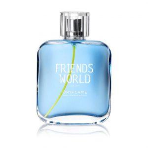 1e89ddab 119b 4cc8 927a 2ea4dc40d9f4 300x300 - ادو تویلت مردانه ی اوریفلیم مدل Friends World For Him حجم 75 میلی لیتر