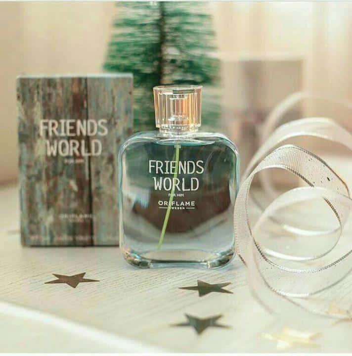 PROMO PARFUM WANITA ORIGINAL FRIENDS WORLD FOR HER EAU DE TO - ادو تویلت مردانه ی اوریفلیم مدل Friends World For Him حجم 75 میلی لیتر