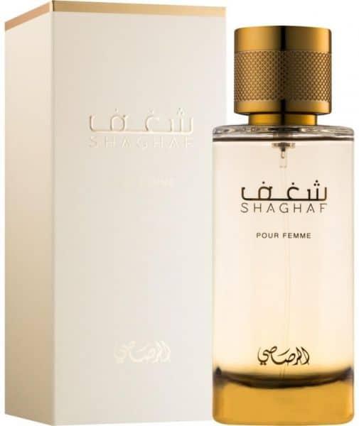 item XL 36994516 144561687 - ادو پرفیوم زنانه ی الرصاصی مدل Rasasi Shaghaf Pour Femme حجم 100 میلی لیتر