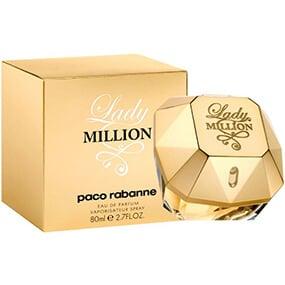 lady million de paco rabanne edp 80 ml - بهترین عطرهای زنانه سال 2019