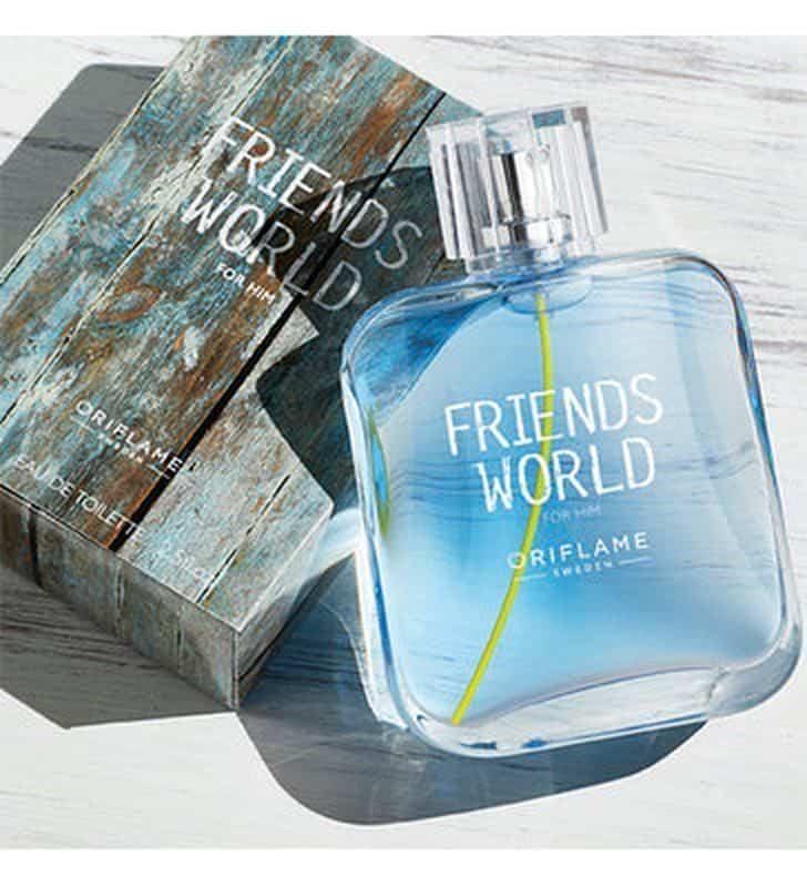 tualetnaya voda friends world for him frends vorld fo him photo f610 - ادو تویلت مردانه ی اوریفلیم مدل Friends World For Him حجم 75 میلی لیتر