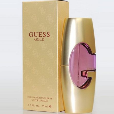 ادو پرفیوم زنانه ی گس گلد Guess Gold for women حجم 75 میلی لیتر