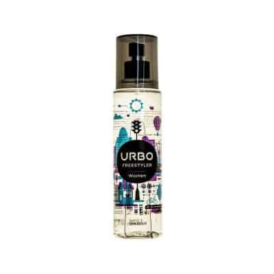 بادی اسپلش عطری زنانه اوربو (URBO) مدل Free Styler حجم ۱۵۰ میلی لیتر