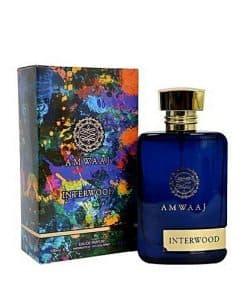 عطر مردانه فراگرنس ورد آمواج اینتروود(Amwaaj Interwood) حجم 100 میل