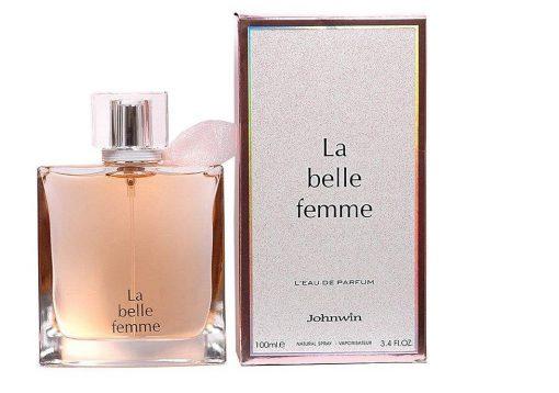 ادو پرفیوم زنانه جانوین مدل لا بل فیم La belle Femme حجم 100 میلی لیتر